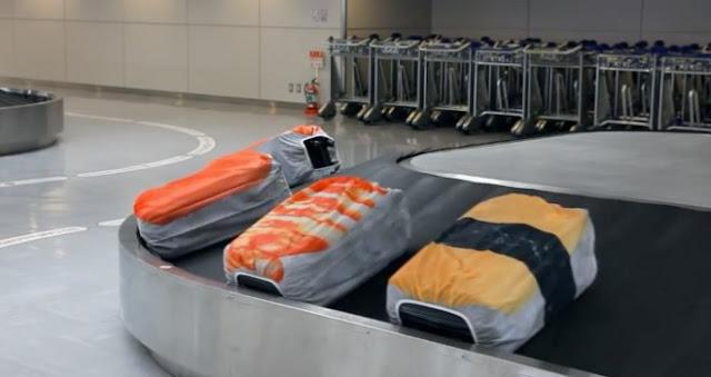 外国人旅行者にオススメ?日本の面白いデザインの商品7選【i】 回転寿司のようになる旅行カバンケース
