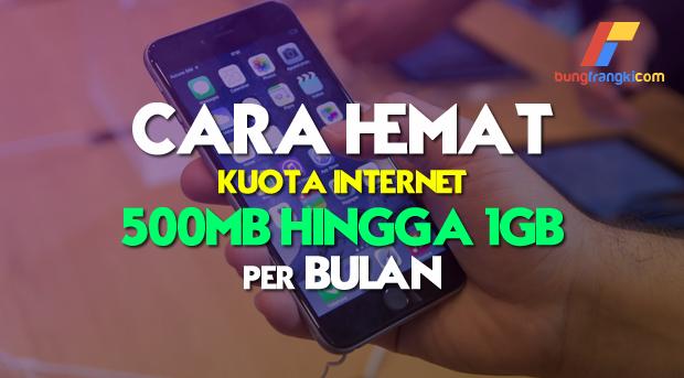 Cara hemat kuota internet di smartphone Android