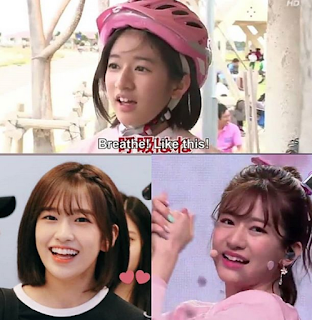 Produce 48 An Yujin and Takeuchi Miyu