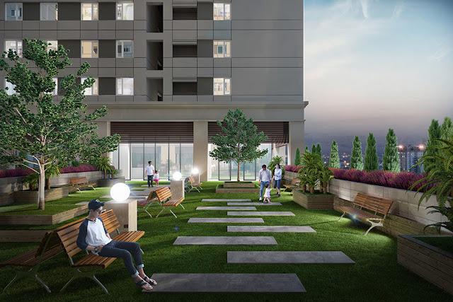 Sky Garden chung cư The K Park Hà Đông