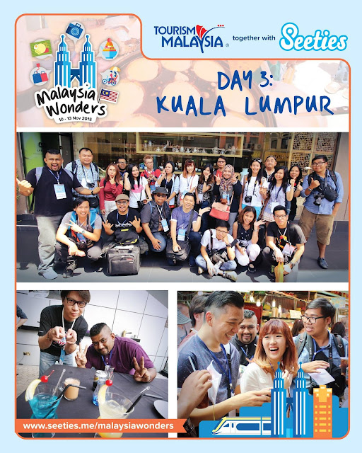 Group photo with Thailand and Malaysia bloggers all together during Malaysia Wonders 2015