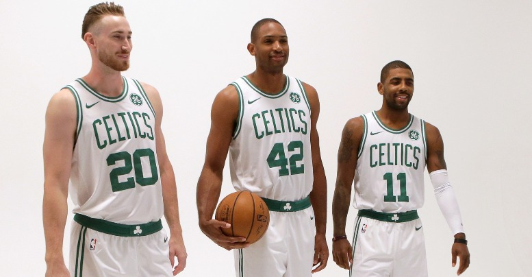Image result for Tatum, hayward, horford, irving 2019