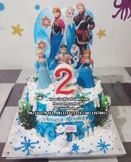 Kue Tart Ulang Tahun Frozen Buttercream