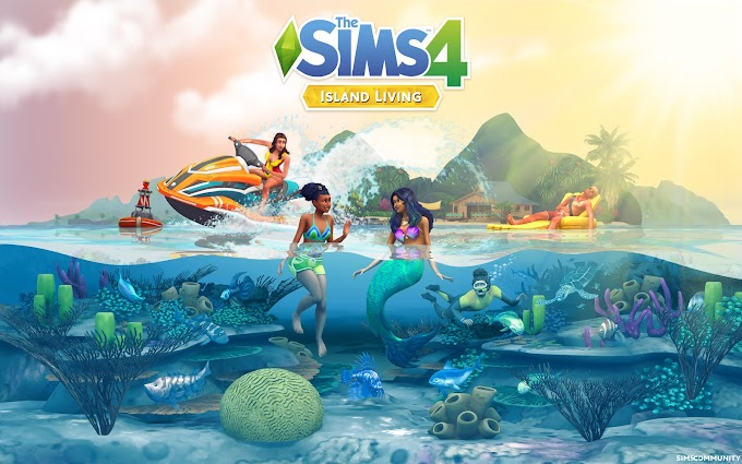 The Sims 4 Island Living v1.54.120.1020 + Crack+ Todas as DLCs (CODEX - TORRENT)