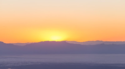 White sands at sunset from National Solar Observatory New Mexico_by_Laurence Norah