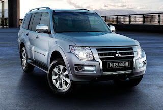 Mitsubishi Pajero: dimension Specs ( Overall height, lenght, ground clearance)