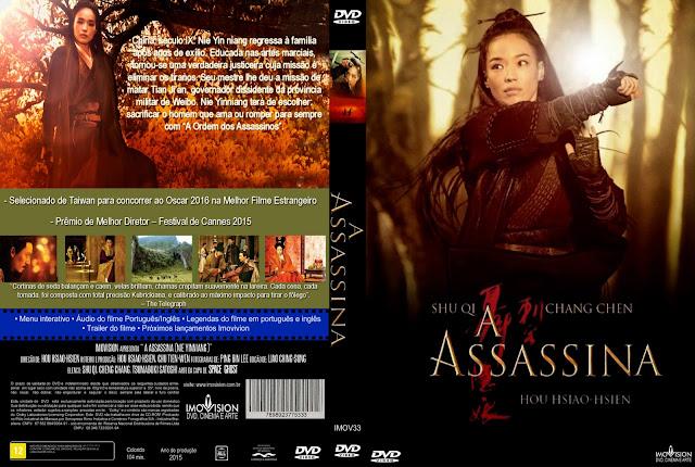 Capa DVD A Assassina