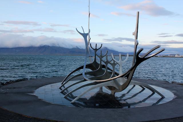 Sólfar, el barco vikingo de Reikiavik
