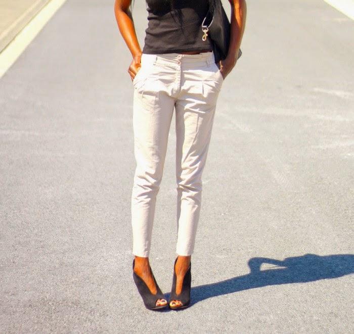 Basic Zara Pantalon Wq0hqxry C1f3kljt Affordable Ample Femme Z Beige qzpUMSV
