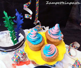Muffin di Carnevale - Ricetta dolce di Carnevale
