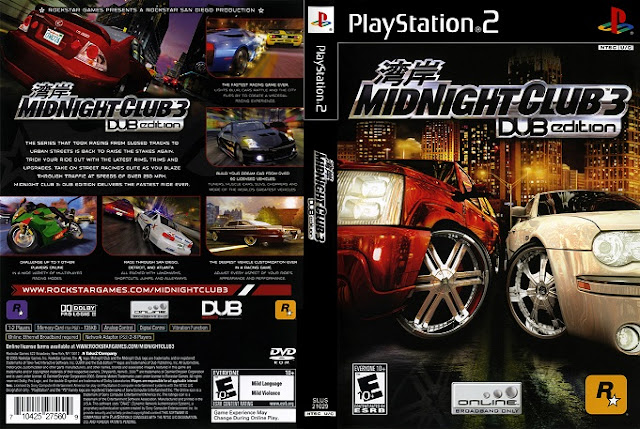 Midnight Club 3 PC and PS2 Game Download