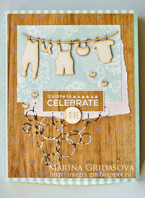 gift boxes for a newborn | I-Kropka DT @akonitt #by_marina_gridasova #newbornbox #box #alteredscrap #chipboard #dcwv #i-kropka