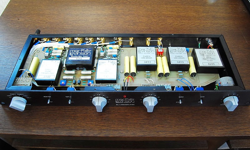 Mark Levinson Vintage Audio Gear: ML-1 | Preamplifier | 1977