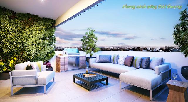 Phong cách sống thời thượng tại Luxury Apartment