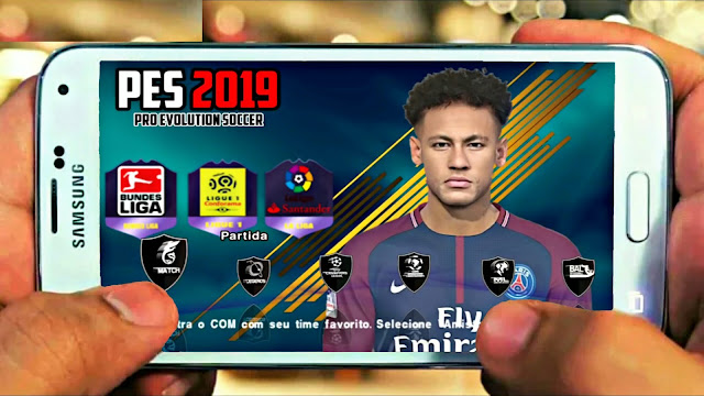 Download PES 2019 Android Best Graphics Offline New Camera PS4