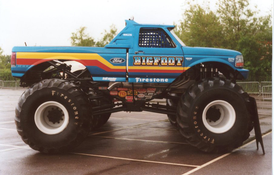 bigfoot monster truck. Black Bedroom Furniture Sets. Home Design Ideas