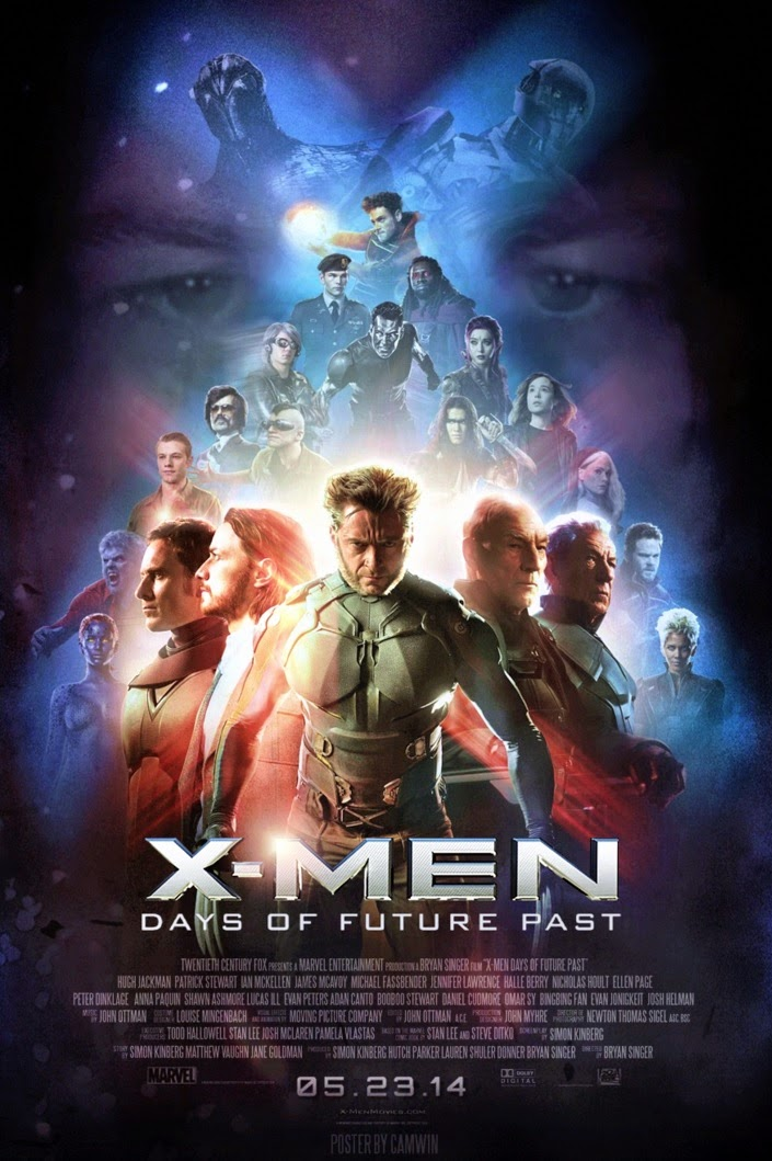 X-Men: Days of Future Past, X-Men Film Franchise, Hugh Jackman as Wolverine, James McAvoy as Professor Charles Xavier, Michael Fassbender as Magneto, Jennifer Lawrence as Mystique, Directed by Bryan Singer