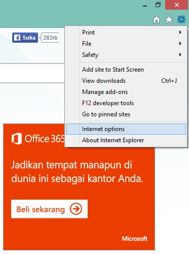 Cara Membersihkan Cookie Internet Explorer