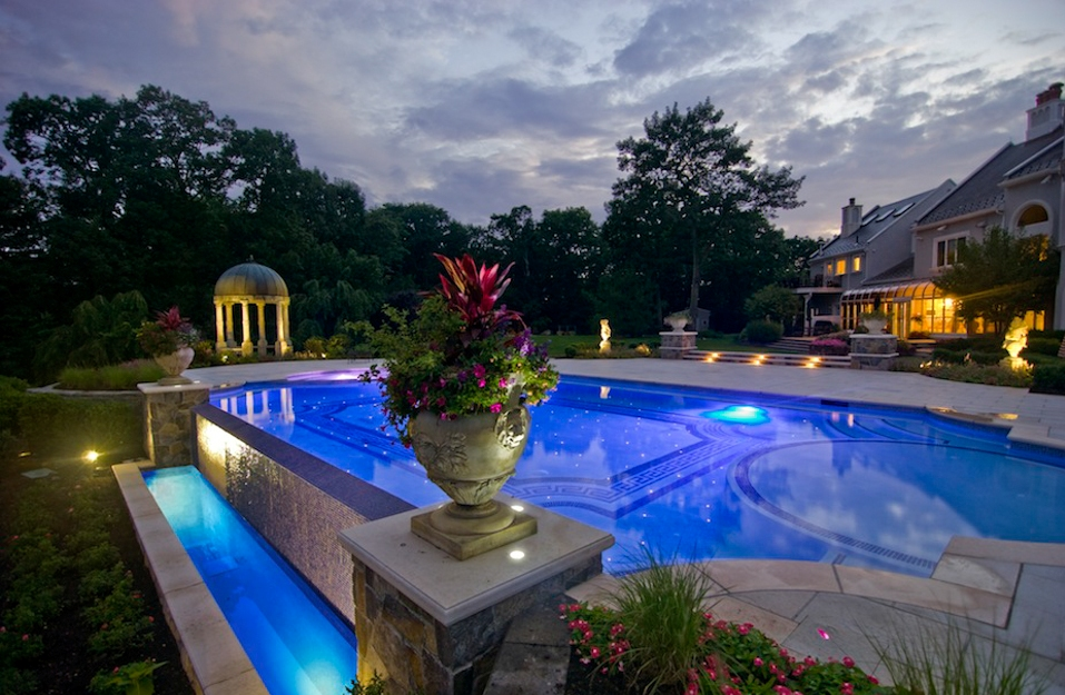 luxury swimming pools