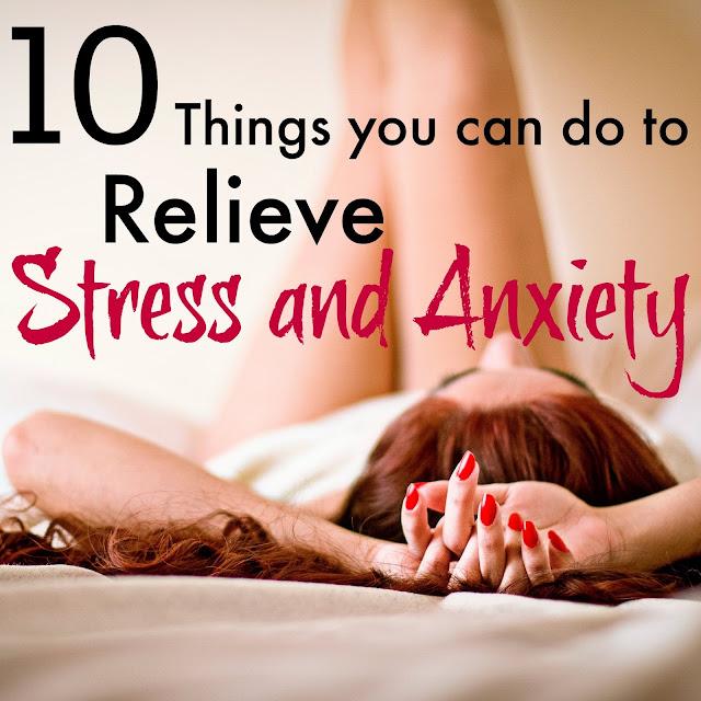 relieve stress anxiety
