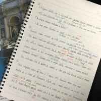 イタリア語ノート