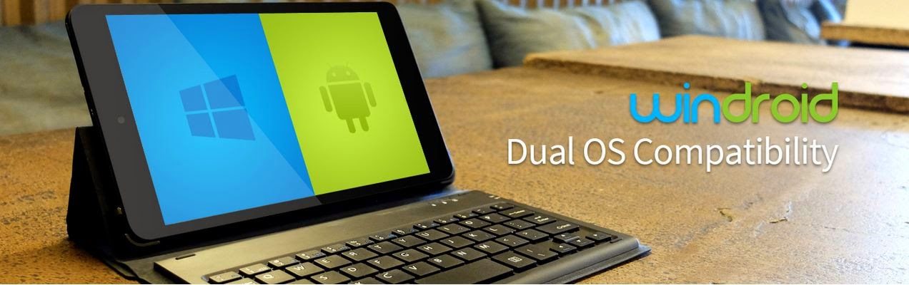 Axioo Windroid Dual Operating System