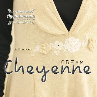 Ayyanameena Cheyenne - Cream