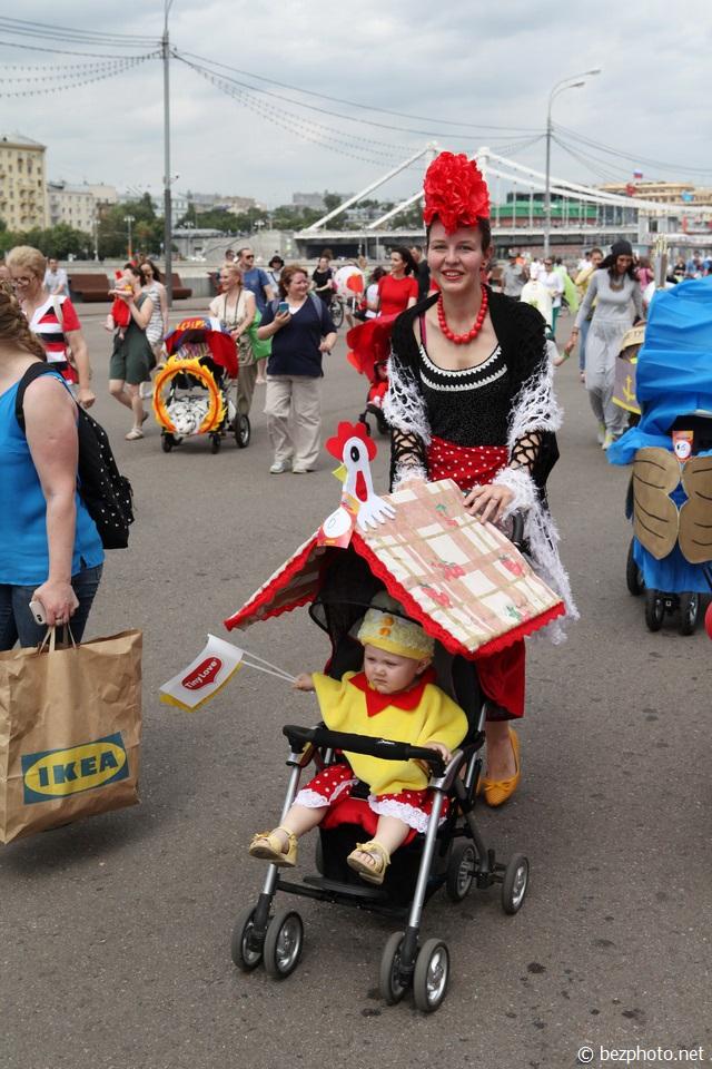 парад колясок телеканал мама