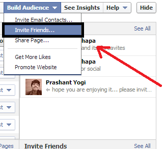 How to Invite All your Facebook Friends to like a Fan Page Automatically?