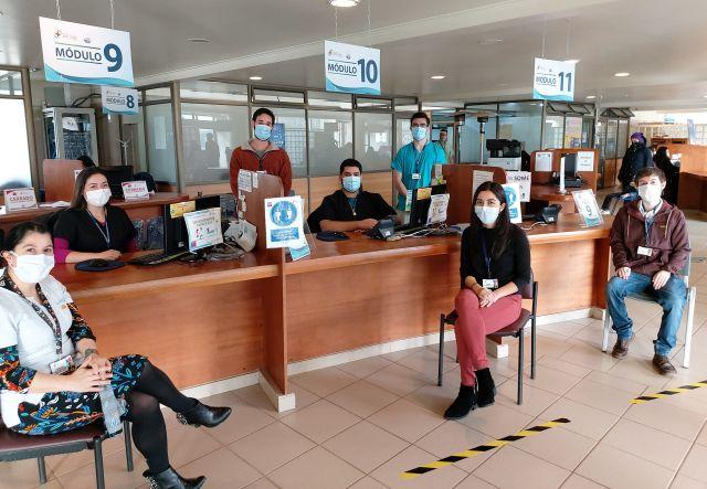 Equipo COVID-19 del Hospital Osorno orienta a más 400 personas al mes de manera remota