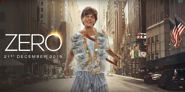 Bollywood: Shah Rukh Khan's Upcoming Film 'Zero' Trailer Out Now
