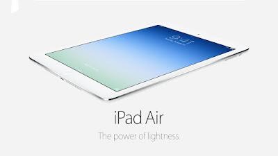 Cách chọn màn hình ipad air