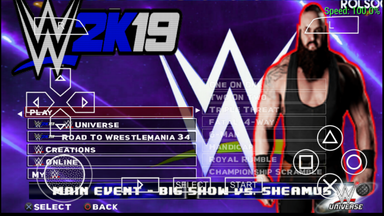 WWE 2K19 FOR PSP - AB Tech gaming