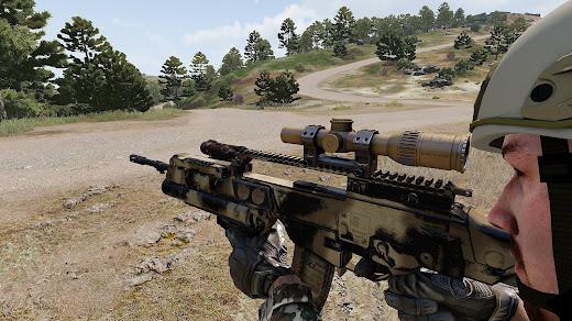 Arma3用ドイツ連邦軍MODで再構築された3Dモデル