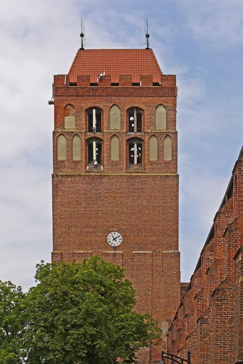 dzwonnica katedry w kwidzynie