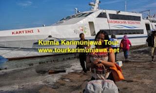 foto kapal cepat kartini semarang karimunjawa