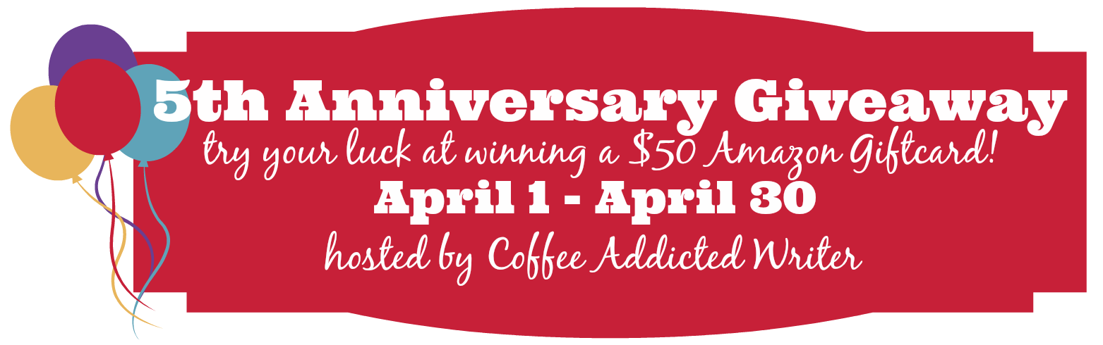 5th Anniversary Giveaway - $50 Amazon Gift Card!