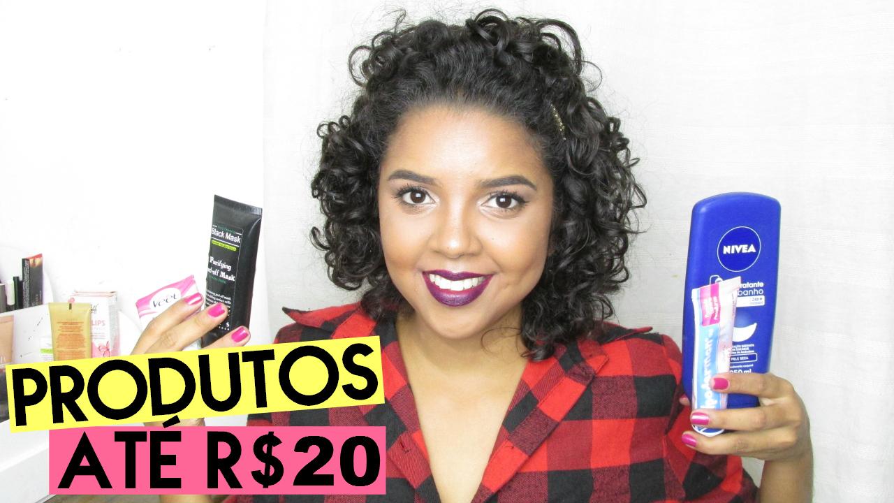Dez produtos que amo até R$20, produtos baratos, produtos bons e baratos, cosméticos bons e baratos