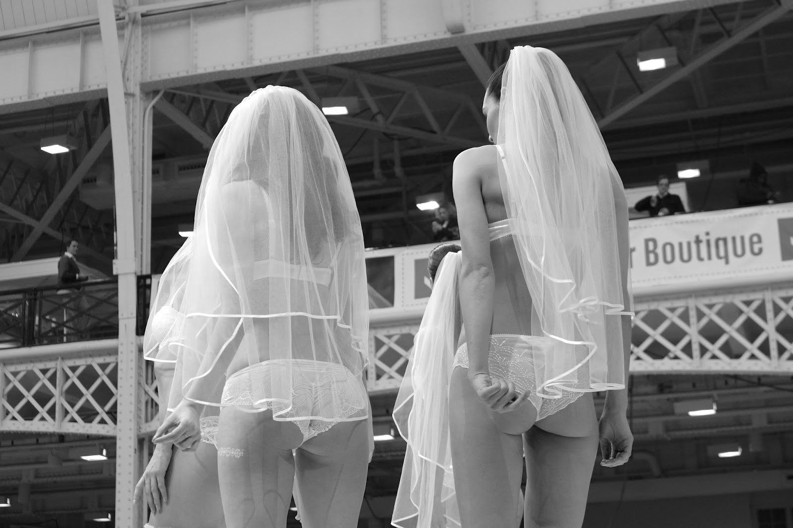The National Wedding Show London lingerie catwalk
