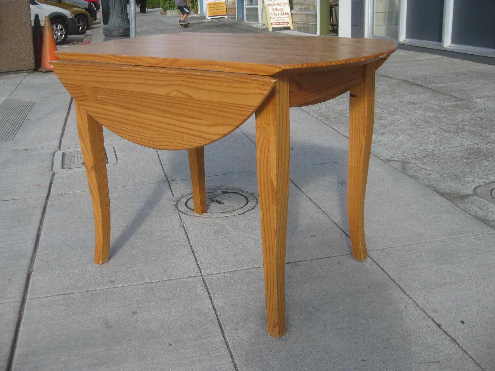 Sold Wooden Drop Leaf Table 100