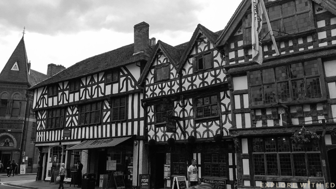 Harvard House, Stratford-Upon-Avon High Street