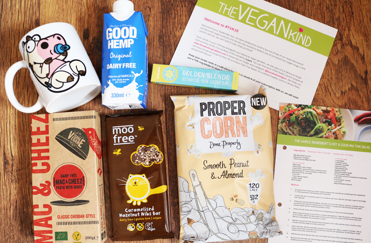 The Vegan Kind TVK 35 box review