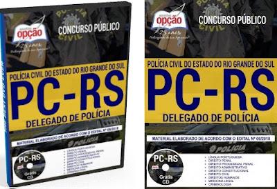 apostila Concurso Público para Delegado de Polícia PC-RS