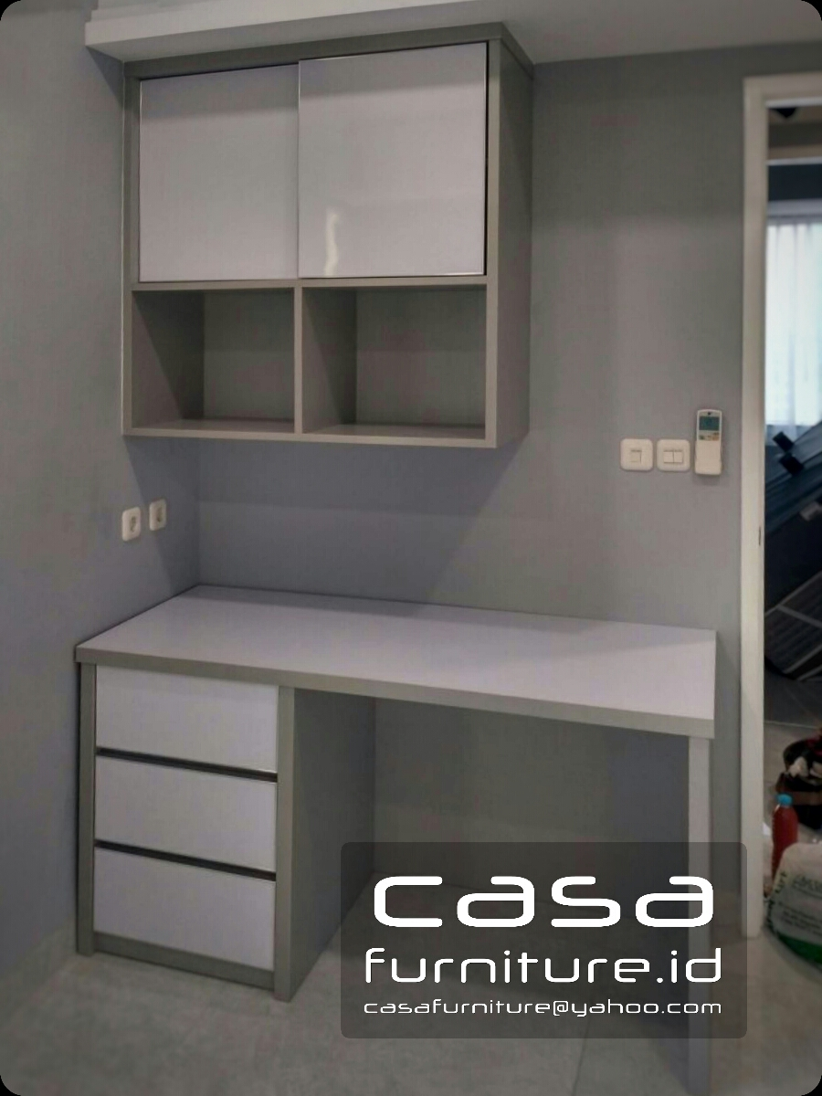 Lemari Minimalis Apartemen Taman Anggrek Furniture