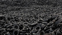 knoxville pest control, rubber mulch, tires