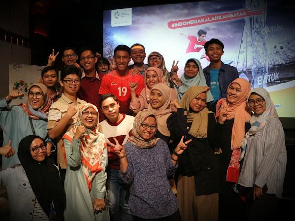 Penutupan Kampanye #IndonesiaKalahkanBatas Dari Combiphar Meraih 2 Rekor Muri