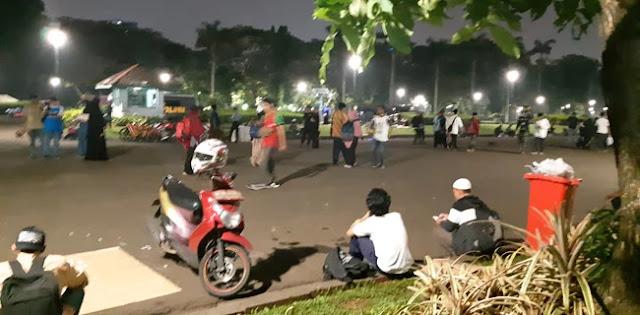 Peserta Reuni 212 Dari Lahat Berangkat Bergelombang Ke Jakarta