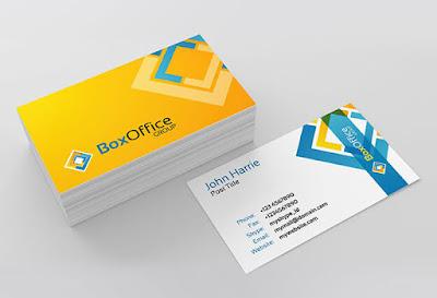 ý nghĩa màu sắc trong thiết kế card visit cá nhân