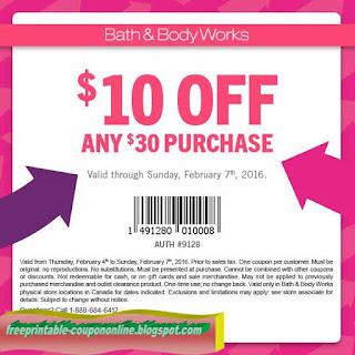 bath and body works coupon canada 2019 printable