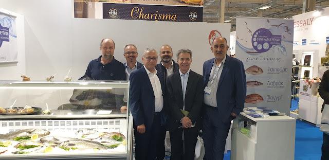 Με επιτυχία η συμμετοχή των υδατοκαλλιεργητών της Θεσπρωτίας στη FOOD EXPO 2019